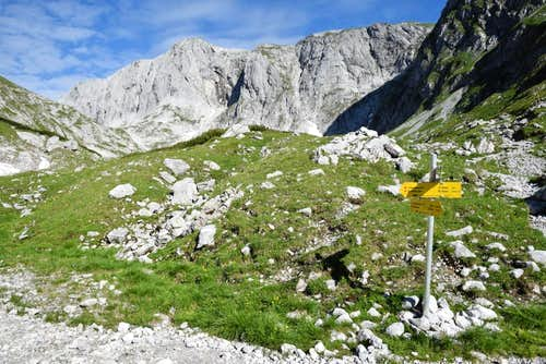 Hiking in the Hochschwab