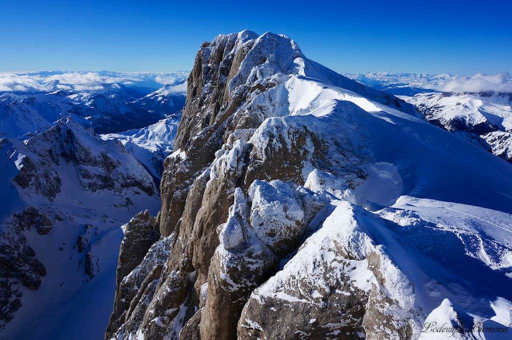 The Queen: Marmolada Punta Penia (10964 ft / 3342 m)