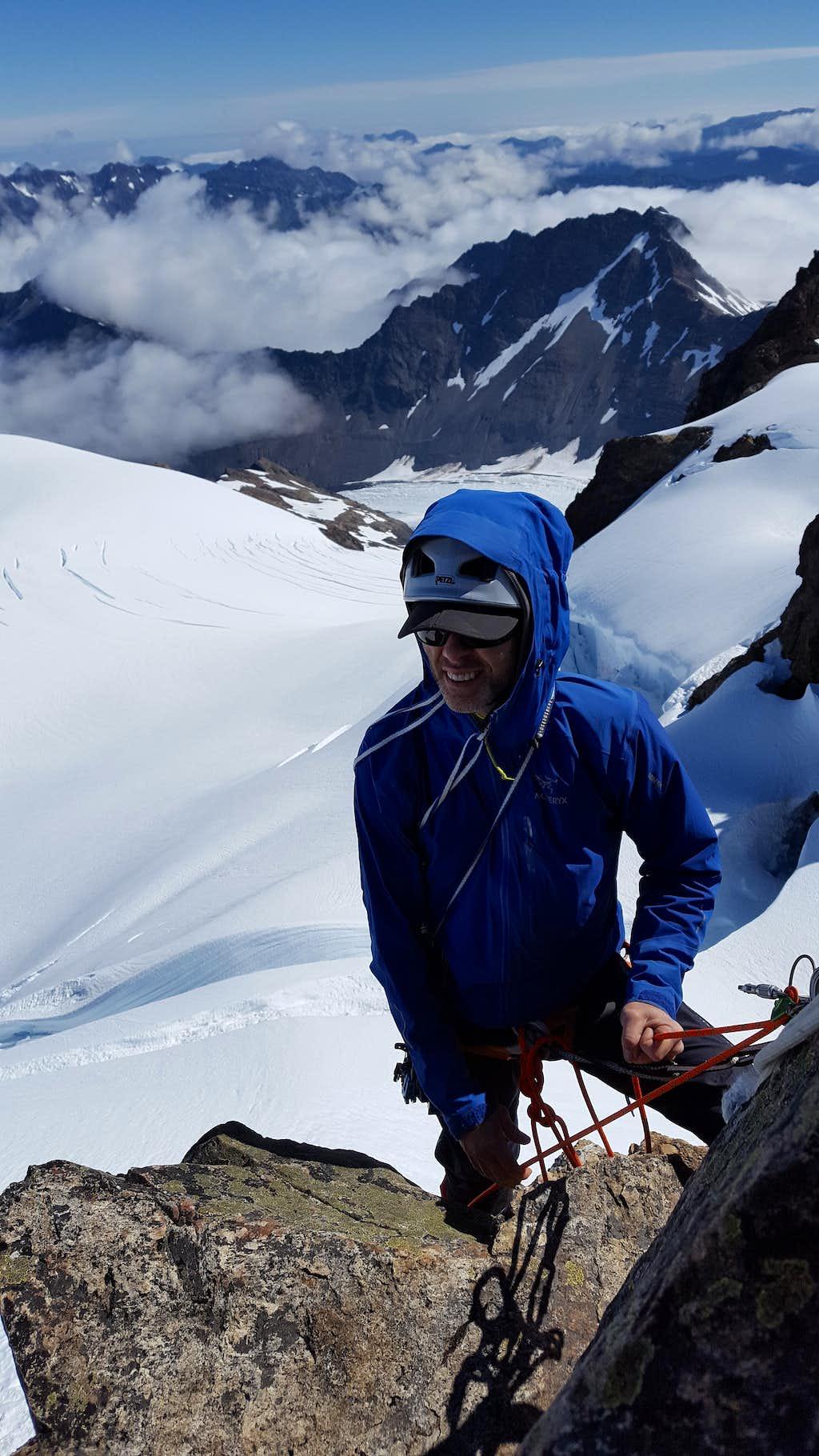 Me Belaying On Summit
