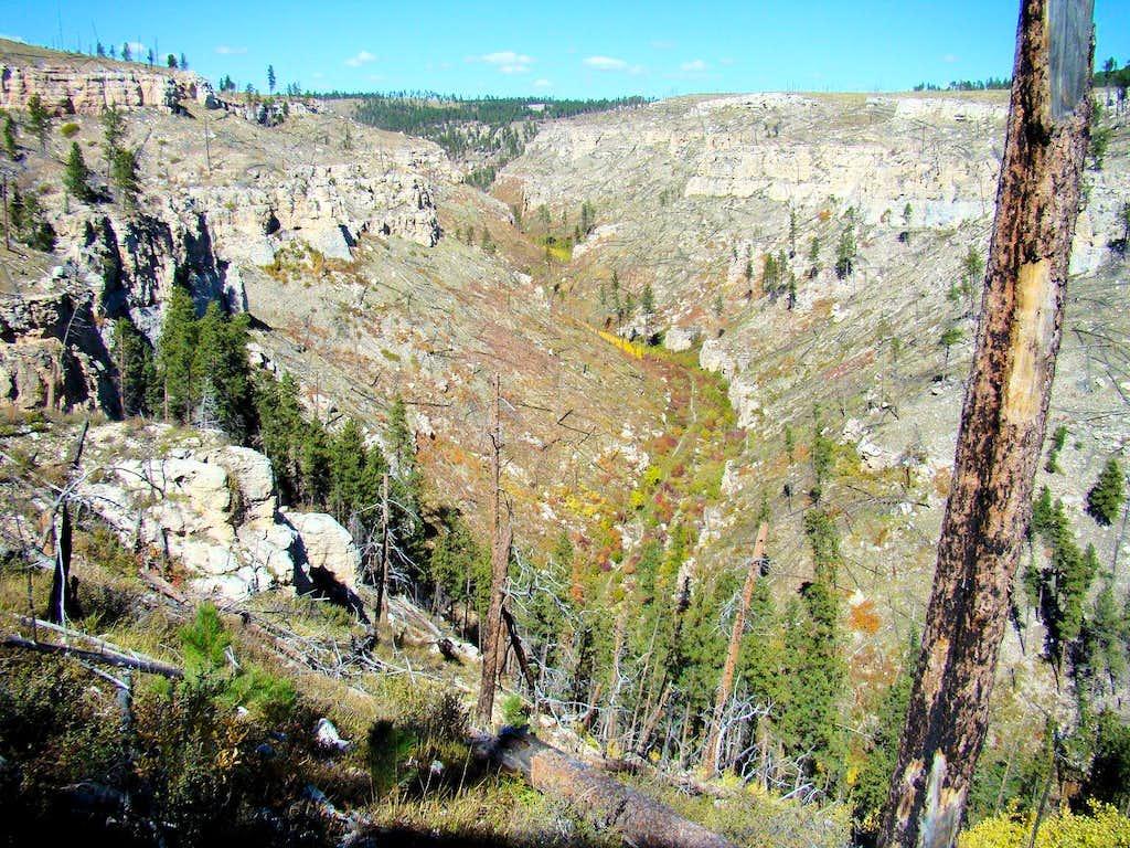Hell Canyon Vista