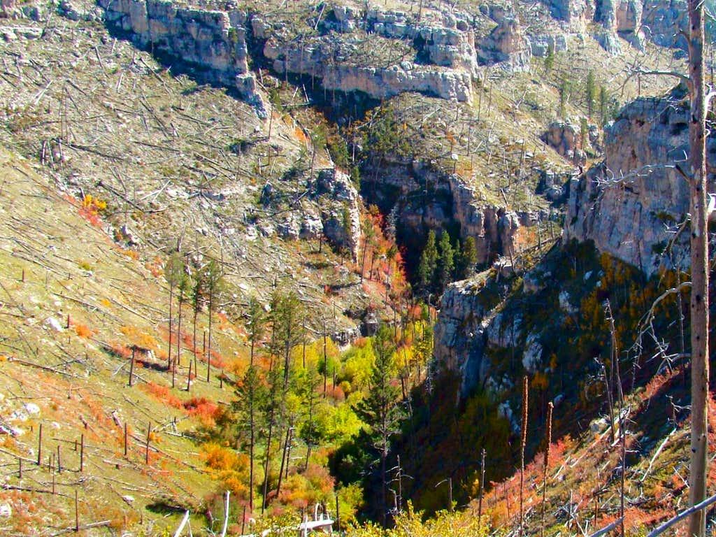 Hell Canyon Rocky Walls