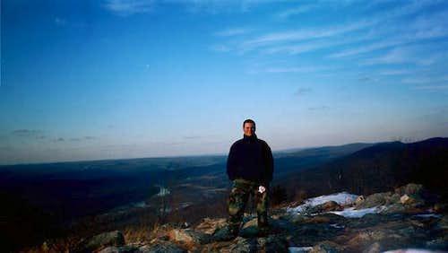 Rob on the Summit.