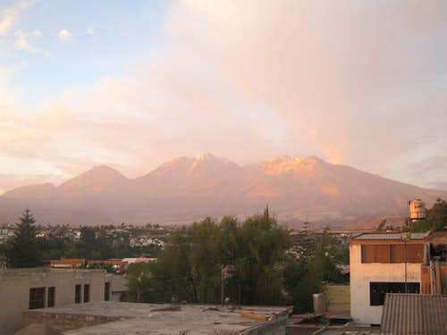 View from Arequipa