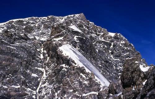Climbing Hintergrat, August...
