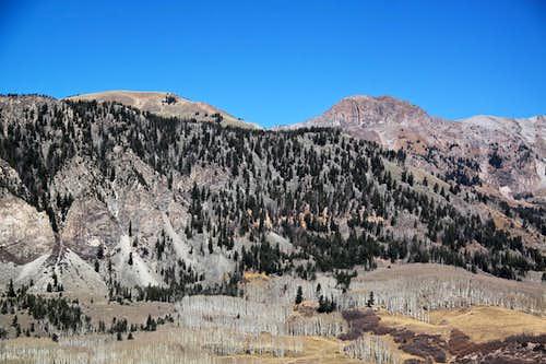 Whipple Mountain and Peak 12311