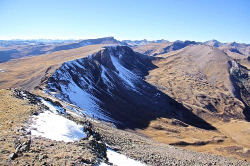 Tundra Top and Cataract Peak