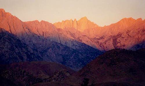 Mount Whitney at morning...
