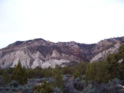 Blue Mountain and Razor Ridge...