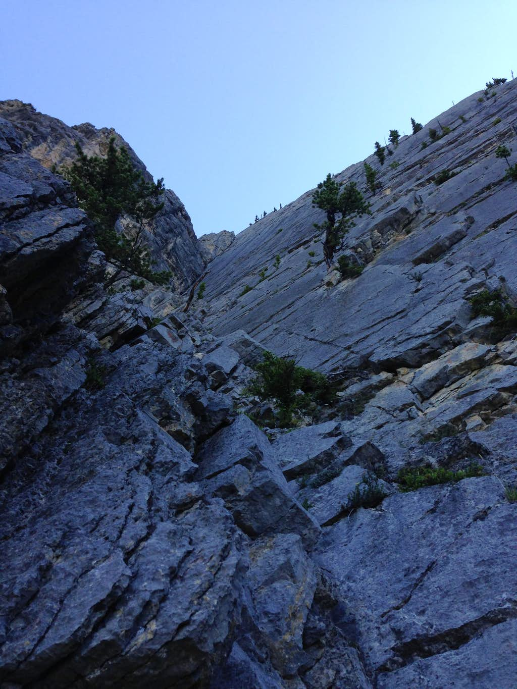 Mid section of pitch 1 : Photos, Diagrams & Topos : SummitPost