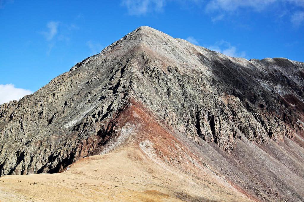 West Ridge up Middle Peak