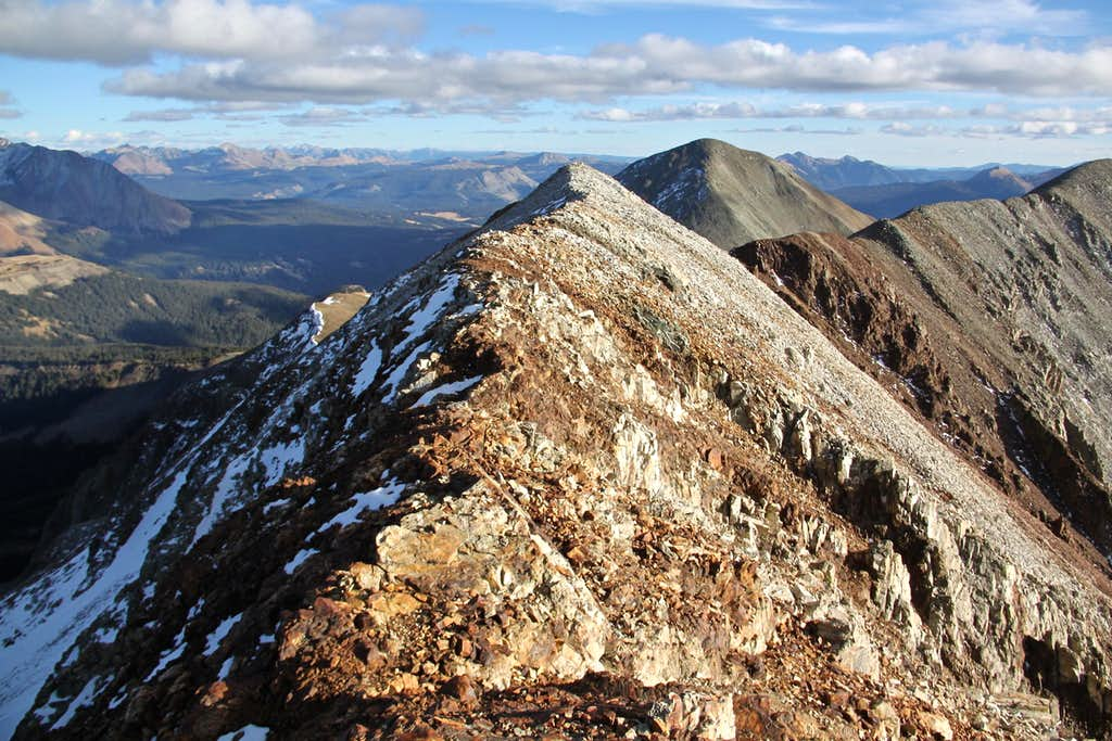 East Ridge of Middle Peak