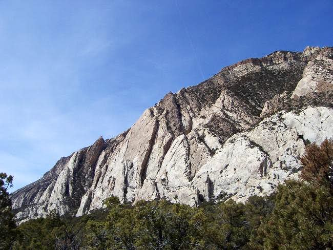 From the base of Razor Ridge...
