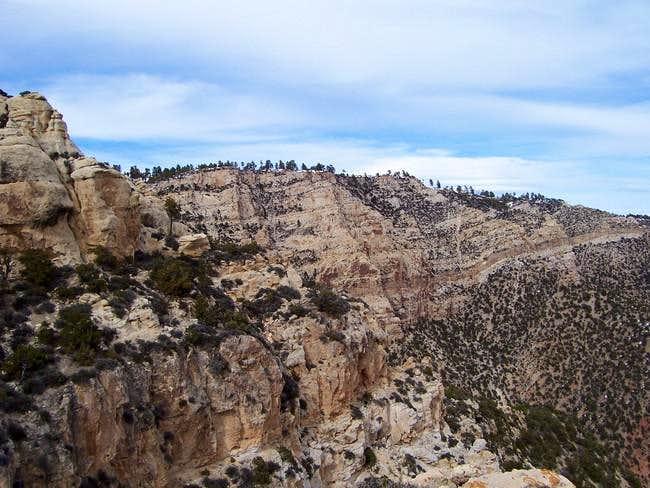 High on the Razor Ridge...
