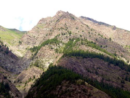 Tsa Setse Vallon Southern & steep rocky ramparts 2016