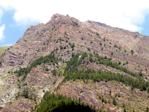 Tsa Setse Vallon ... rocky ramparts above Epinel 2016