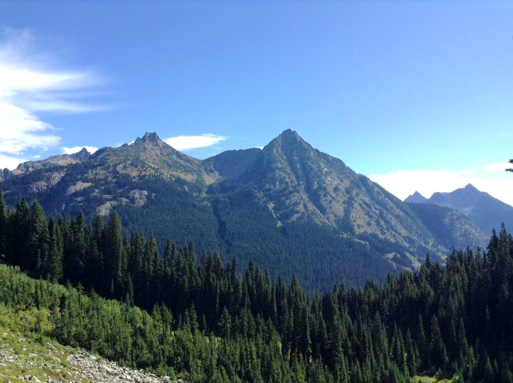 Molar Tooth and Cutthroat Peak