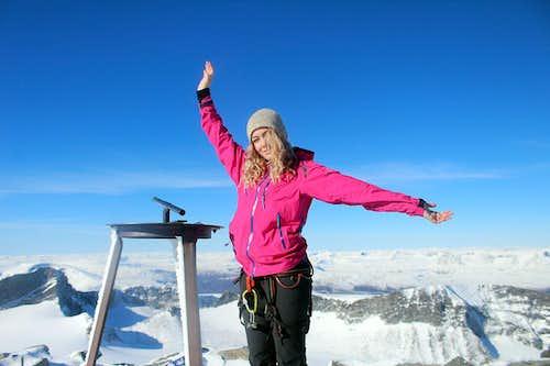 Norway's highpoint, Galdhøpiggen