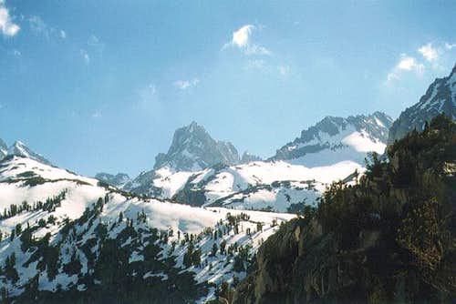 Mount Winchell, viewed from...