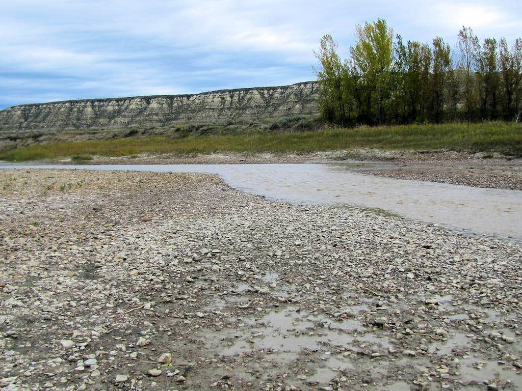 Fording Little Missouri River