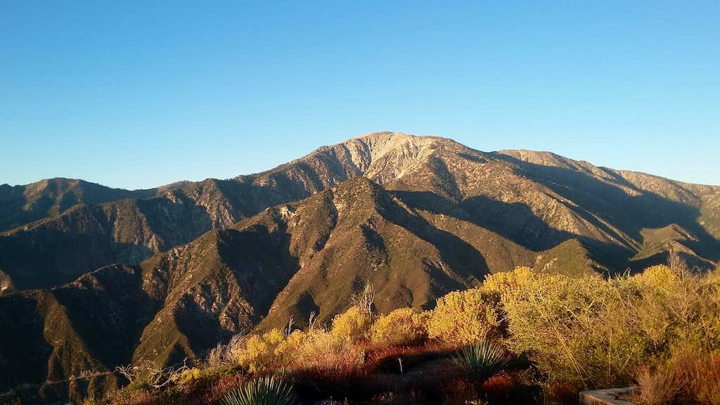 Mount San Antonio from Sunset Peak