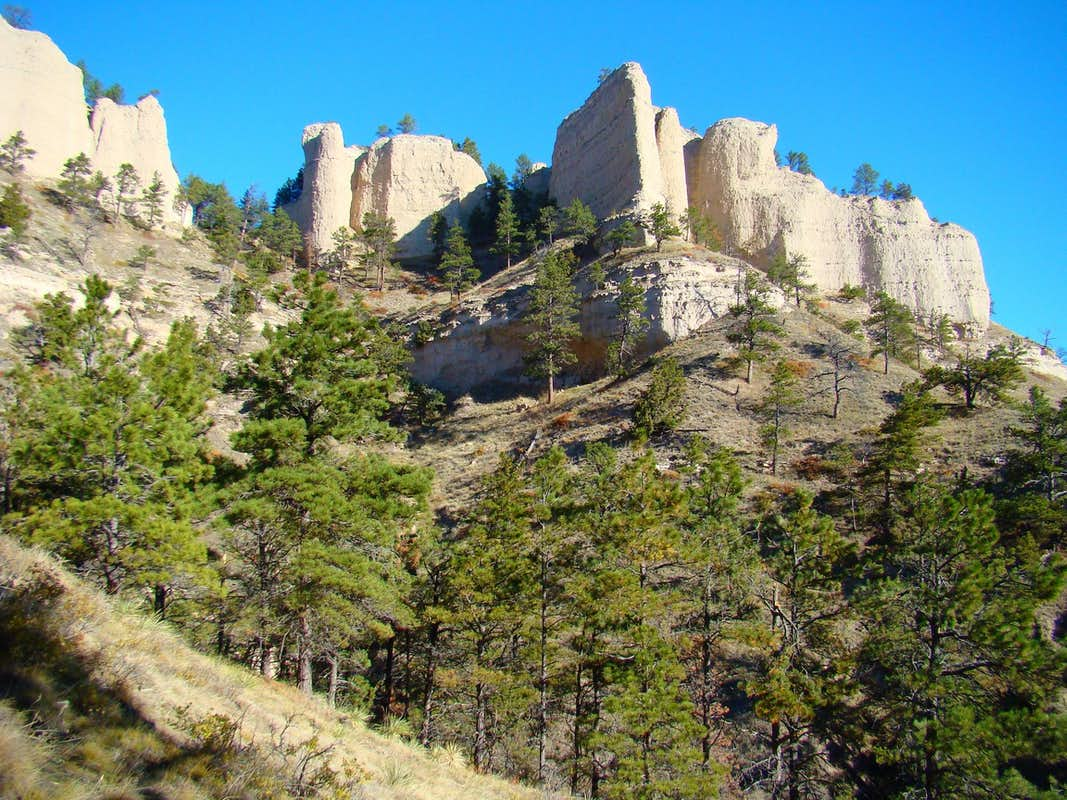 A Butte At Fort Robinson Sp Photos Diagrams Amp Topos