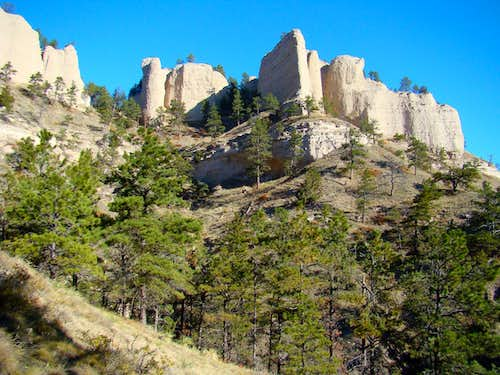 A Butte at Fort Robinson SP