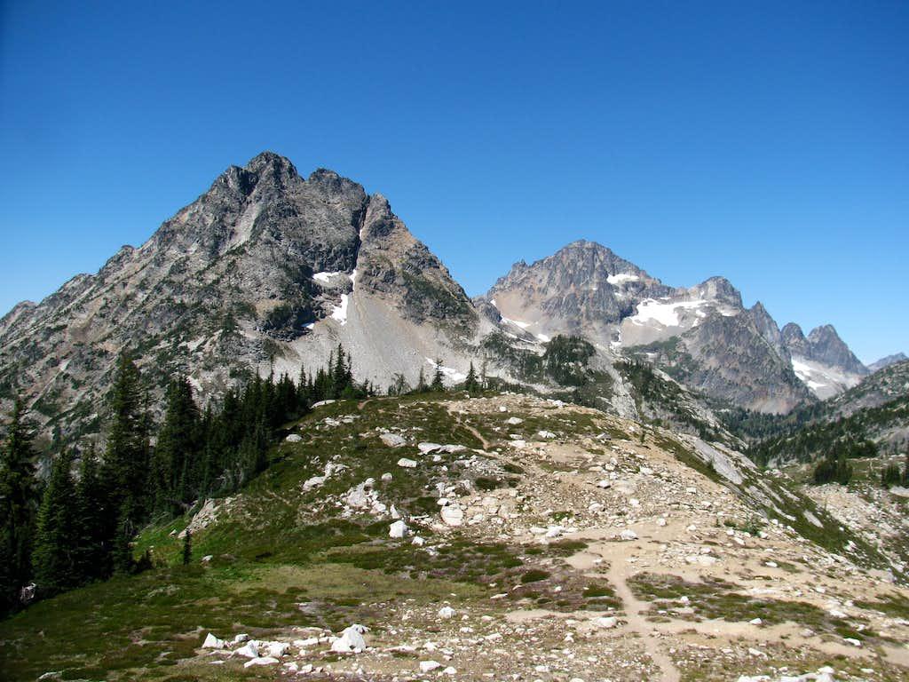 Corteo Peak and Black Peak