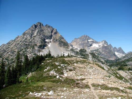 Corteo Peak and Black Peak
