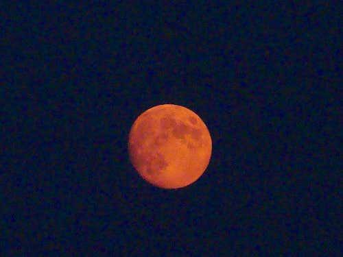 Mars or a Smoky Moon?