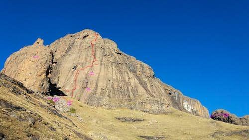 Sentinel Peak West Face
