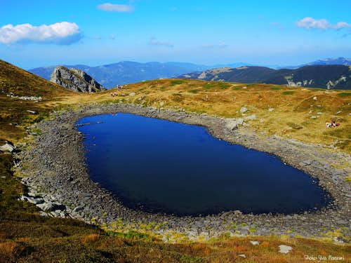 A different perspective of Lago Bicchiere