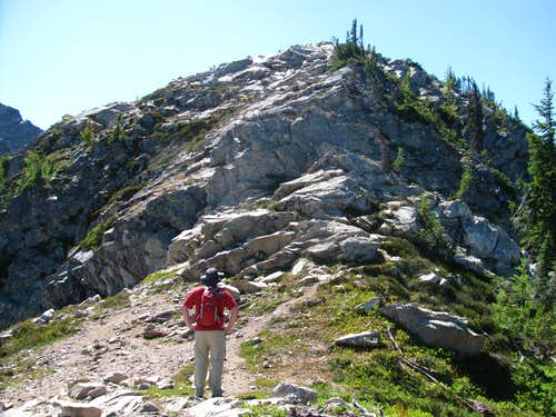 Above Maple Pass on the North Ridge of Frisco