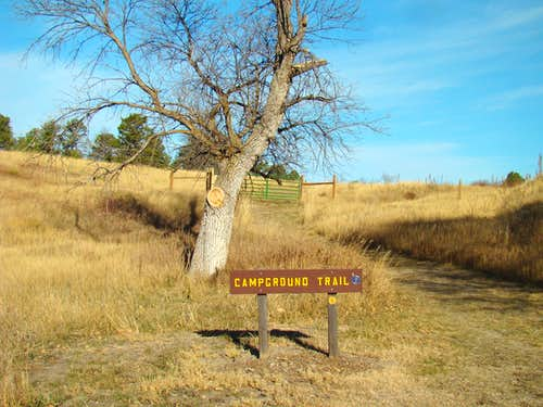 Trailhead at the Campground