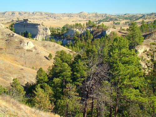 North Canyon at Chadron State Park