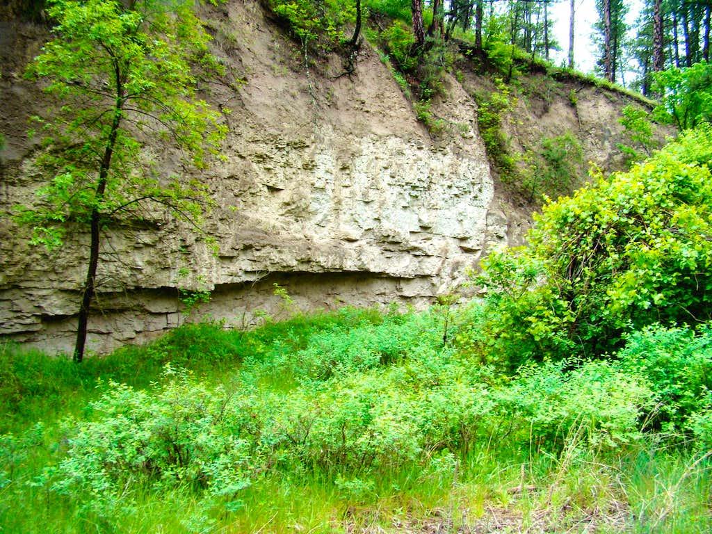 Lebo Canyon Wall