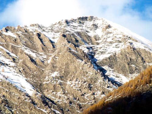 Pointe de Tsavanis South ramparts & South Face 2016
