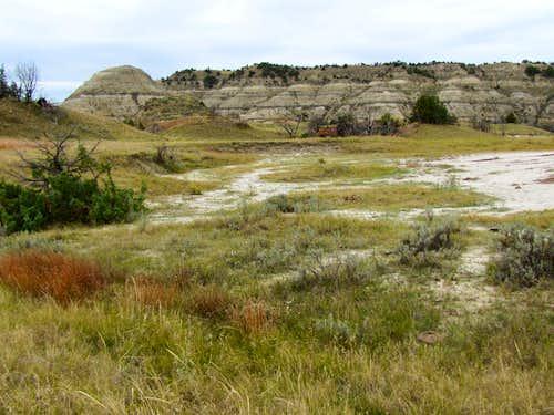 Eastern trailhead of Jones Creek Trail