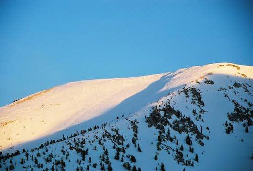 North Face of San Gorgonio...