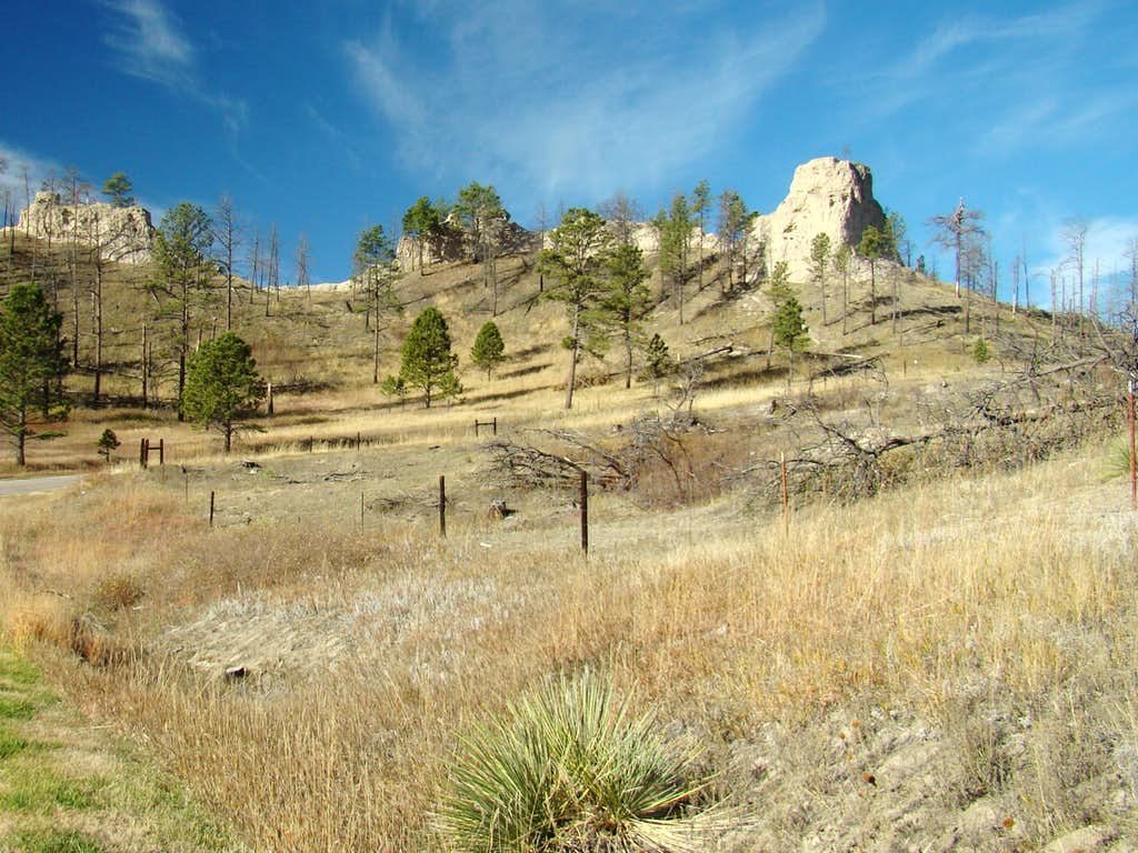 Pine Cone Butte at Chadron State Park