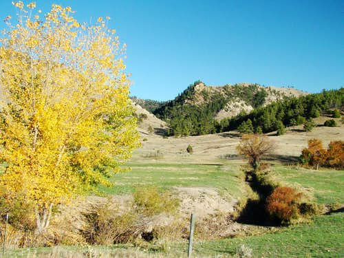 Autumn in the Southern Black Hills