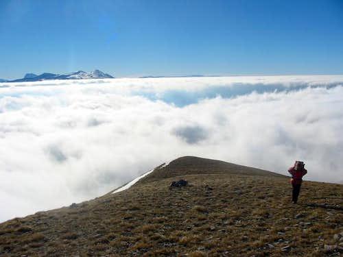 Climbing Vettore. Gran Sasso...