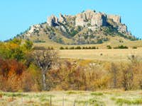 Crow Butte Autumn