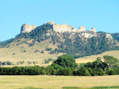 Crow Butte West Side