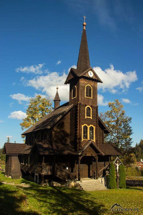 Tatranska Javorina church