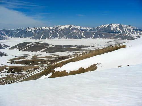 Monte Vettore. Lookin towards...