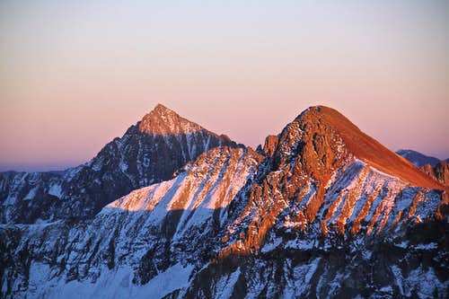 Mount Sneffels and Mears Peak