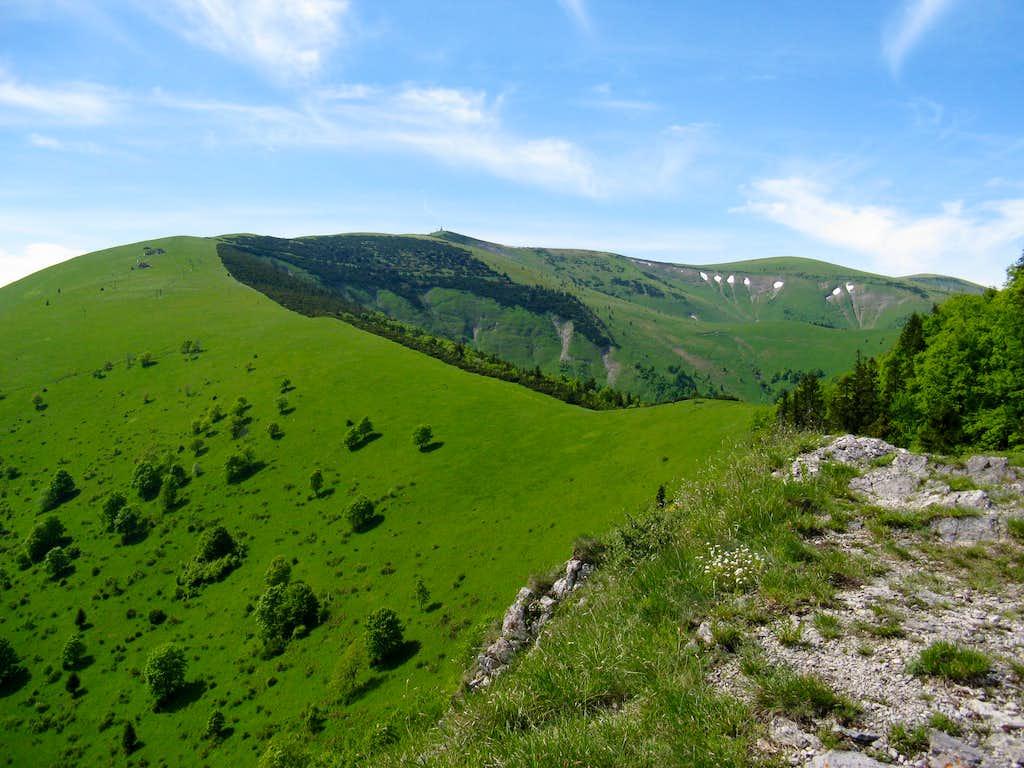 Krížna massif (1574m)