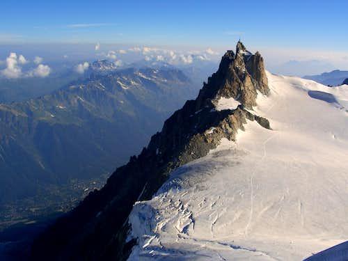 Aiguille du Midi from M. Blanc du Tacul