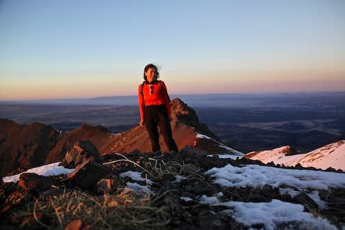 Sunset summit of S 8