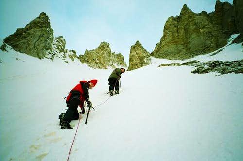 Climbing to the highest peak...
